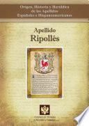 libro Apellido Ripollés