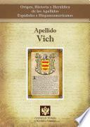 libro Apellido Vich