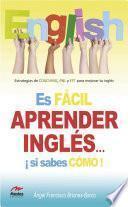 libro Es Fácil Aprender Inglés Si Sabes Cómo