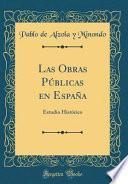 libro Las Obras Públicas En España
