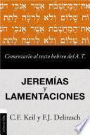 libro Comentario Al Texto Hebreo Del Antiguo Testamento - Jeremías Y Lamentaciones