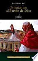 libro Enseñanzas Al Pueblo De Dios. Ii: Año 2006