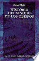 libro Historia Del Sínodo De Los Obispos