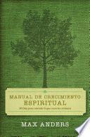 libro Manual De Crecimiento Espiritual