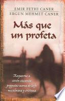 libro Mas Que Un Profeta