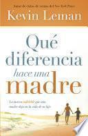 libro Qué Diferencia Hace Una Madre