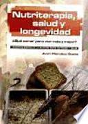 libro Nutriterapia, Salud Y Longevidad