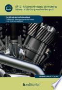 libro Mantenimiento De Motores Térmicos De Dos Y Cuatro Tiempos. Tmvg0409